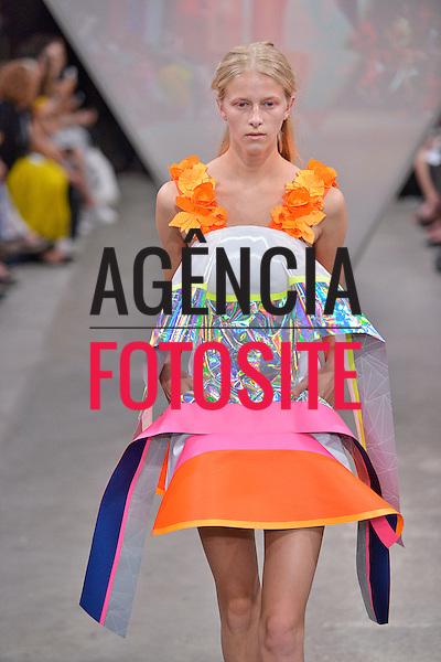 Londres, Inglaterra &sbquo;09/2014 - Desfile de Fyodor Golan durante a Semana de moda de Londres  -  Verao 2015. <br /> <br /> Foto: FOTOSITE