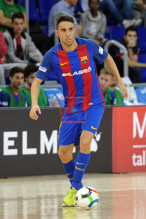 League LNFS 2016/2017 - Game 4.<br /> FC Barcelona Lassa vs Gran Canaria FS: 4-2.<br /> Aicardo.