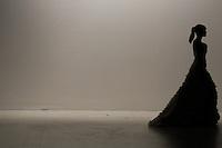SAO PAULO, SP, 04.04.2014 - SPFW / VERAO 2015 / SAMUEL CIRNANSCK - Desfile da grife Samuel Cirnansck no São Paulo Fashion Week, Verão 2015 no Parque Candido Portinari regiao oeste de Sao Paulo nesta sexta-feira, 04.(Foto: William Volcov / Brazil Photo Press).
