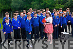 Pupils at Kilmurry National School put on a wonderful show for the parents and friends who attended the opening of a new extension to the school last week.