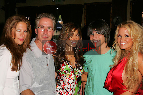 """Galen Brown, Jack Silver, Kerri Kasem and Tina Jordan <br /> at the """"Two Chicks and a Bunny"""" at the Saddle Ranch,  The Saddle Ranch Chop House, West Hollywood, CA 07-17-05<br /> Jason Kirk/DailyCeleb.com 818-249-4998"""