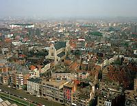 April 1994. Sint-Pauluskerk in Antwerpen.