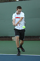 STANFORD, CA - NOVEMBER 16:  Walker Kehrer of the Stanford Cardinal during photo day on November 16, 2009 at the Taube Family Tennis Stadium in Stanford, California.