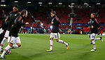 Victor Lindelof of Manchester United (C) warms up before the Champions League Group A match at the Old Trafford Stadium, Manchester. Picture date: September 12th 2017. Picture credit should read: Andrew Yates/Sportimage