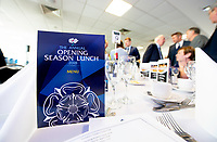 Picture By Allan McKenzie/SWpix.com - 06/04/18 - Cricket - Yorkshrie County Cricket Club Opening Season Lunch 2018 - Emerald Headingley Stadium, Leeds, England -