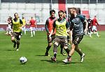 nph00001  v.l. Leo Oestigard, Marvin Knoll (St. Pauli)<br /> Hamburg, 17.05.2020, Fussball 2. Bundesliga, FC St. Pauli - 1. FC Nuernberg <br /> <br /> Foto: Tim Groothuis/Witters/Pool//via Kokenge/nordphoto