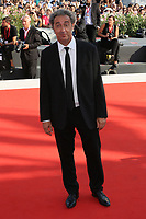 "VENICE, ITALY - September 01:  Paolo Sorrentino walks the red carpet of ""The New Pope"" screening during the 76th Venice Film Festival  on September 01, 2019 in Venice, Italy. (Photo by Mark Cape/Inside Foto)<br /> Venezia 01/09/2019"