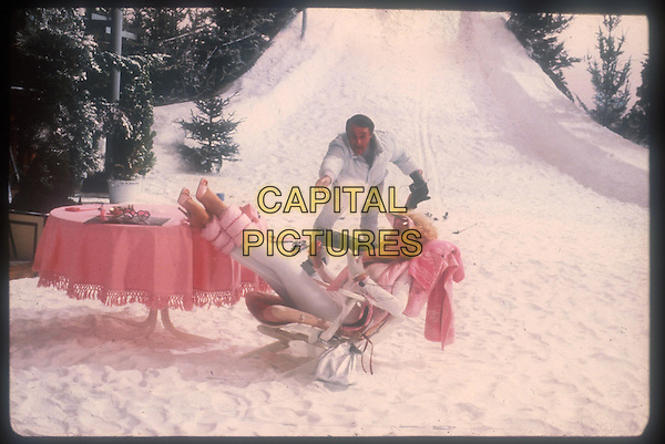 ROBERT VAUGHN & PAMELA STEPHENSON.in Superman 3 (1983).Filmstill - Editorial Use Only.Ref: FB.www.capitalpictures.com.sales@capitalpictures.com.Supplied by Capital Pictures
