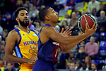 League ACB-ENDESA 2017/2018 - Game: 12.<br /> FC Barcelona Lassa vs Herbalife Gran Canaria: 77-88.<br /> DJ Seeley vs Phil Pressey.