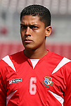 15 March 2008: Eric Vasquez (PAN). The Panama U-23 Men's National Team defeated the Cuba U-23 Men's National Team 4-1 at Raymond James Stadium in Tampa, FL in a Group A game during the 2008 CONCACAF's Men's Olympic Qualifying Tournament.