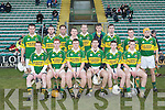 The Kerry team who competed in the Munster GAA Waterford Crystal Hurling Cup at Austin Stack on Sunday.