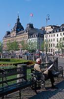 Daenemark, auf dem Kongens Nytorv in  Kopenhagen