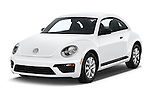2017 Volkswagen Beetle S 3 Door Hatchback Angular Front stock photos of front three quarter view