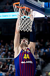 Ante Tomic of FC Barcelona Lassa during Turkish Airlines Euroleague match between Real Madrid and FC Barcelona Lassa at Wizink Center in Madrid, Spain. December 13, 2018. (ALTERPHOTOS/Borja B.Hojas)
