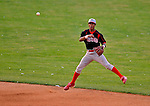 7 July 2008: Batavia Muckdogs' infielder Beau Riportella in action against the Vermont Lake Monsters at Centennial Field in Burlington, Vermont. The Lake Monsters defeated the Muckdogs 3-2 in the final game of their 3-game series...Mandatory Photo Credit: Ed Wolfstein Photo