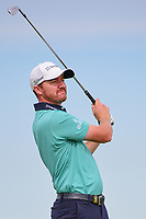 Jimmy Walker (USA) watches his tee shot on 13 during Friday's round 2 of the 117th U.S. Open, at Erin Hills, Erin, Wisconsin. 6/16/2017.<br /> Picture: Golffile   Ken Murray<br /> <br /> <br /> All photo usage must carry mandatory copyright credit (&copy; Golffile   Ken Murray)