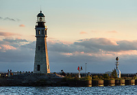 Buffalo Lighthouse, Buffalo, New York, USA.
