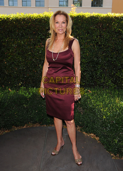 KATHIE LEE GIFFORD.The Disney Legends Awards held at Walt Disney Studios in Burbank, California on .October 13th, 2008      .full length kathy red burgundy dress .CAP/DVS.©Debbie VanStory/Capital Pictures.