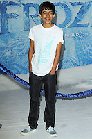 "HOLLYWOOD, CA - NOVEMBER 19: Karan Brar at the World Premiere Of Walt Disney Animation Studios' ""Frozen"" held at the El Capitan Theatre on November 19, 2013 in Hollywood, California. (Photo by David Acosta/Celebrity Monitor)"