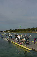 [Mandatory Credit, Peter Spurier/ Intersport Images] Rowing Course, Olympic Regatta Rowing Course, Munich, GERMANY