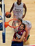 Madrid.- (11/02/2011).-LXXV COPA DE S.M. EL REY.FASE FINAL.Regal F.C. Barcelona-DKV Joventud .Roger Grimau...©Alex Cid-Fuentes/AlfaquiFotografia