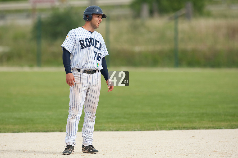 21 May 2009: Dany Scalabrini of Rouen is seen during the 2009 challenge de France, a tournament with the best French baseball teams - all eight elite league clubs - to determine a spot in the European Cup next year, at Montpellier, France.