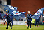 07.04.2018 Rangers v Dundee:<br /> Rangers flagbearers