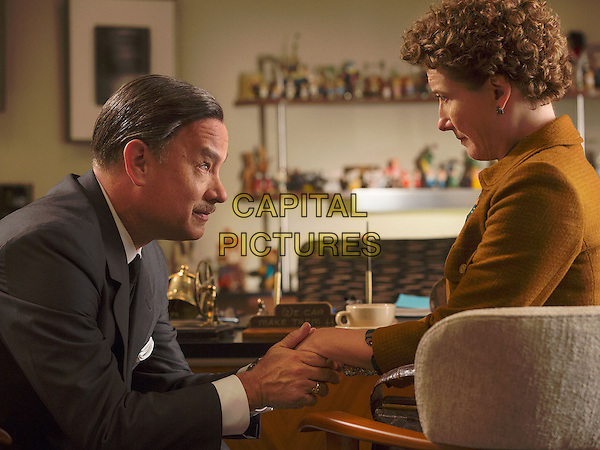 Tom Hanks, Emma Thompson<br /> in Saving Mr. Banks (2013) <br /> *Filmstill - Editorial Use Only*<br /> CAP/NFS<br /> Image supplied by Capital Pictures