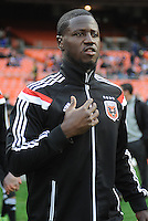 Washington, D.C.- March 29, 2014. Eddie Johnson (7) of D.C. United.  D.C. United defeated the New England Revolution 2-0 during a Major League Soccer Match for the 2014 season at RFK Stadium.
