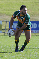 The Wyong Roos play Northern Lakes Warriors in Round 8 of the Open Age Central Coast Rugby League Division at Morry Breen Oval on 27th of May, 2019 in Kanwal, NSW Australia. (Photo by Giselle Barkley/LookPro)