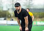 ALMERE - Hockey - Hoofdklasse competitie heren. ALMERE-HGC (0-1) . Almere coach  Pasha Gademan (Almere)  COPYRIGHT KOEN SUYK