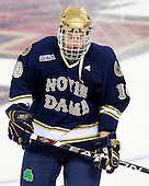 Justin White (Notre Dame - 10) - The University of Notre Dame Fighting Irish defeated the Boston College Eagles 4-1 on Friday, November 7, 2008, at Conte Forum in Chestnut Hill, Massachusetts.