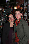 Bradford Anderson & fiance Kiera - General Hospital - appeared by way of Coastal Entertainment on December 6, 2009 at Uncle Vinny's/Ferrera's Cafe in Point Pleasant, New Jersey. They sang for the fans, answered questions, signed photos and posed for photos. (Photos by Sue Coflin/Max Photos)