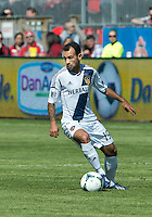 30 March 2013: Los Angeles Galaxy midfielder Juninho #19 in action during an MLS game between the LA Galaxy and Toronto FC at BMO Field in Toronto, Ontario Canada..The game ended in a 2-2 draw..