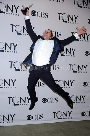Norbert Leo Butz in the press room at the 2011 Tony Awards at the Beacon Theater on June 12, 2011 in New York City Credit: Dennis Van Tine/MediaPunch