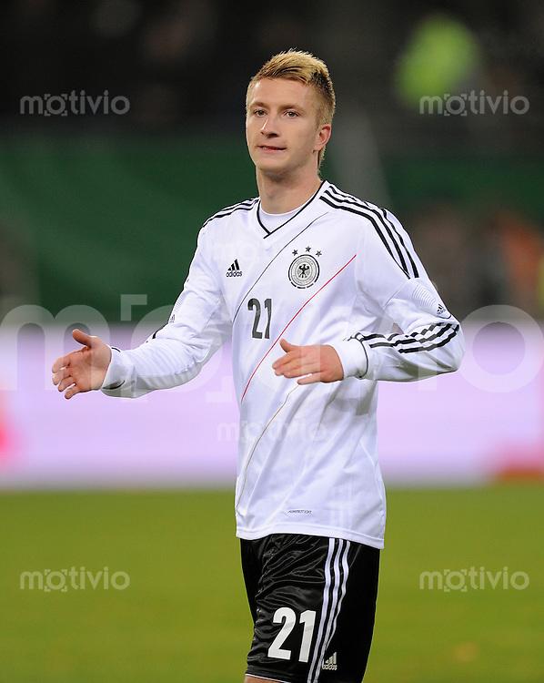 FUSSBALL INTERNATIONAL  Testspiel  15.11.2011  Deutschland - Holland Marco REUS (Deutschland)