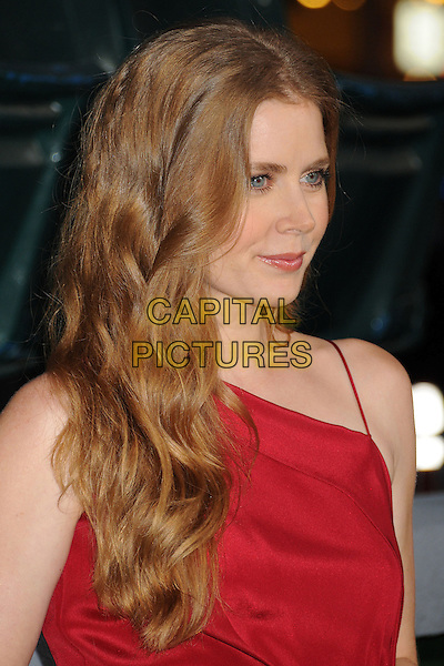"""Amy Adams.""""Trouble With The Curve"""" Los Angeles Premiere held at the Regency Village Theatre, Westwood, California, USA..September 19th, 2012.headshot portrait red  .CAP/ADM/BP.©Byron Purvis/AdMedia/Capital Pictures."""
