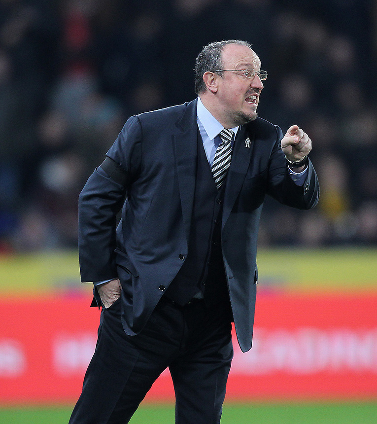 Newcastle United's Manager Rafa Benitez <br /> <br /> Photographer /Mick Walker CameraSport<br /> <br /> The EFL Cup Quarter Final - Hull City v Newcastle United - Tuesday 29th November 2016 - The KCOM Stadium - Hull<br />  <br /> World Copyright &copy; 2016 CameraSport. All rights reserved. 43 Linden Ave. Countesthorpe. Leicester. England. LE8 5PG - Tel: +44 (0) 116 277 4147 - admin@camerasport.com - www.camerasport.com