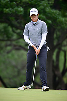 Eun Jeong Seong (KOR) after sinking her putt on 2 during round 3 of  the Volunteers of America Texas Shootout Presented by JTBC, at the Las Colinas Country Club in Irving, Texas, USA. 4/29/2017.<br /> Picture: Golffile | Ken Murray<br /> <br /> <br /> All photo usage must carry mandatory copyright credit (&copy; Golffile | Ken Murray)