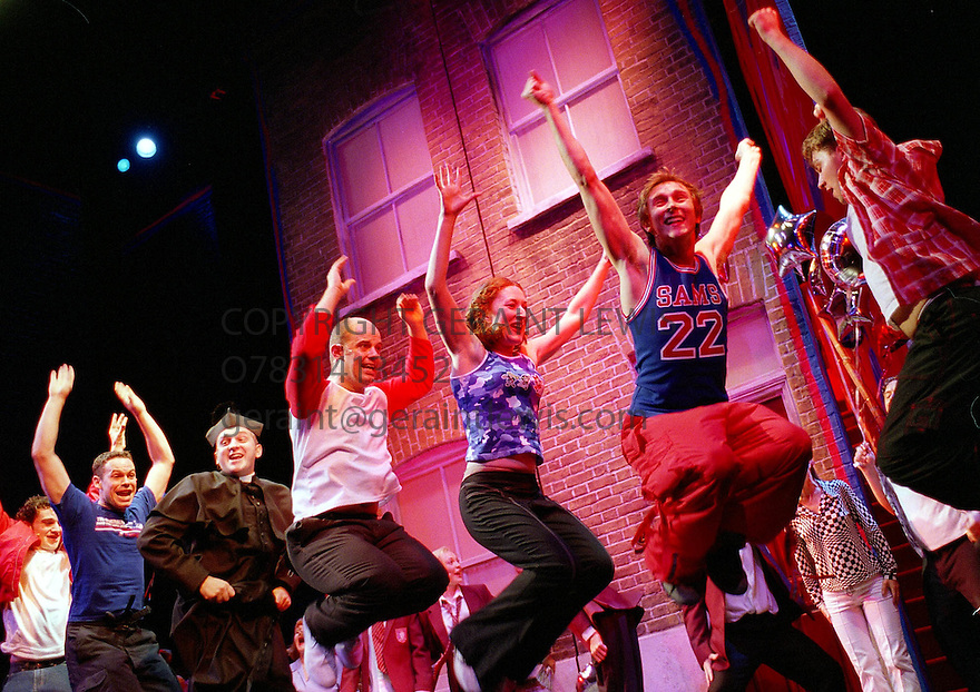 Our House opens at the Cambridge Theatre on 28/10/02 pic Geraint Lewis