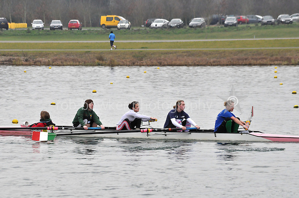 491 Bexhill RC W.IM3.4+..Marlow Regatta Committee Thames Valley Trial Head. 1900m at Dorney Lake/Eton College Rowing Centre, Dorney, Buckinghamshire. Sunday 29 January 2012. Run over three divisions.