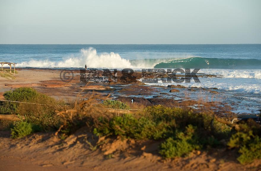Line up of Jake Pt in Kalbarri, Western Australia.