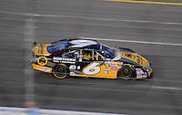 May 1, 2009; Richmond, VA, USA; NASCAR Nationwide Series driver Erik Darnell during the Lipton Tea 250 at the Richmond International Raceway. Mandatory Credit: Mark J. Rebilas-