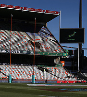 General view of the Toyota Stadium during the 2018 Castle Lager Incoming Series 2nd Test match between South Africa and England at the Toyota Stadium.Bloemfontein,South Africa. 16,06,2018 Photo by Steve Haag / stevehaagsports.com