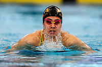 Bronagh Ryan (100m breast) in action during the Swimming New Zealand Short Course Championships,Owen G Glenn National Aquatic Centre, Auckland, New Zealand, Tuesday 3 October 2017. Photo: Simon Watts/www.bwmedia.co.nz