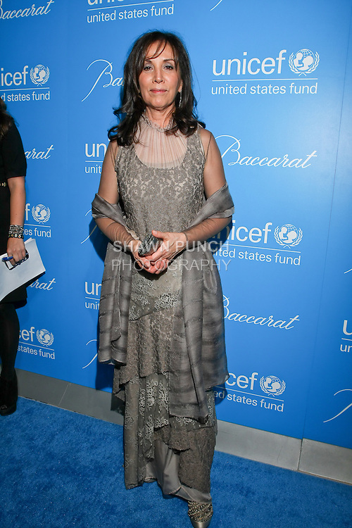 Olivia Harrison arrives at the UNICEF Snowflake Ball, Presented by Baccarat, at Cipriani 42nd Street, November 30, 2010.