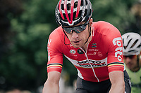Jurgen Roelandts (BEL/Lotto-Soudal) leading the breakaway group<br /> <br /> 2017 National Championships Belgium - Elite Men - Road Race (NC)<br /> 1 Day Race: Antwerpen &gt; Antwerpen (233km)