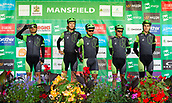 6th September 2017, Mansfield, England; OVO Energy Tour of Britain Cycling; Stage 4, Mansfield to Newark-On-Trent;  Cylance Pro Cycling complete registration sign-in at Mansfield