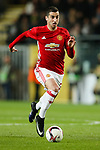 Manchester United's Henrikh Mkhitaryan during the Europa League Quarter Final 1st leg match at RSCA Constant Vanden Stock Stadium, Anderlecht, Belgium. Picture date: April 13th, 2017.Pic credit should read: Charlie Forgham-Bailey/Sportimage
