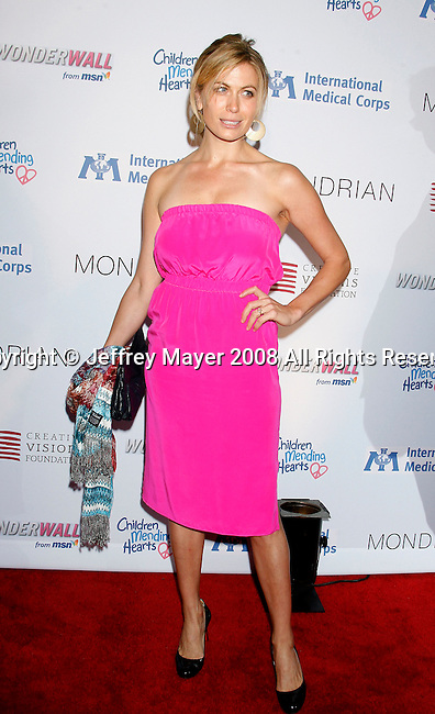 WEST HOLLYWOOD, CA. - February 18: Actress Sonya Walger arrives at the Children Mending Hearts Gala at the House Of Blues on February 18, 2009 in Los Angeles, California.
